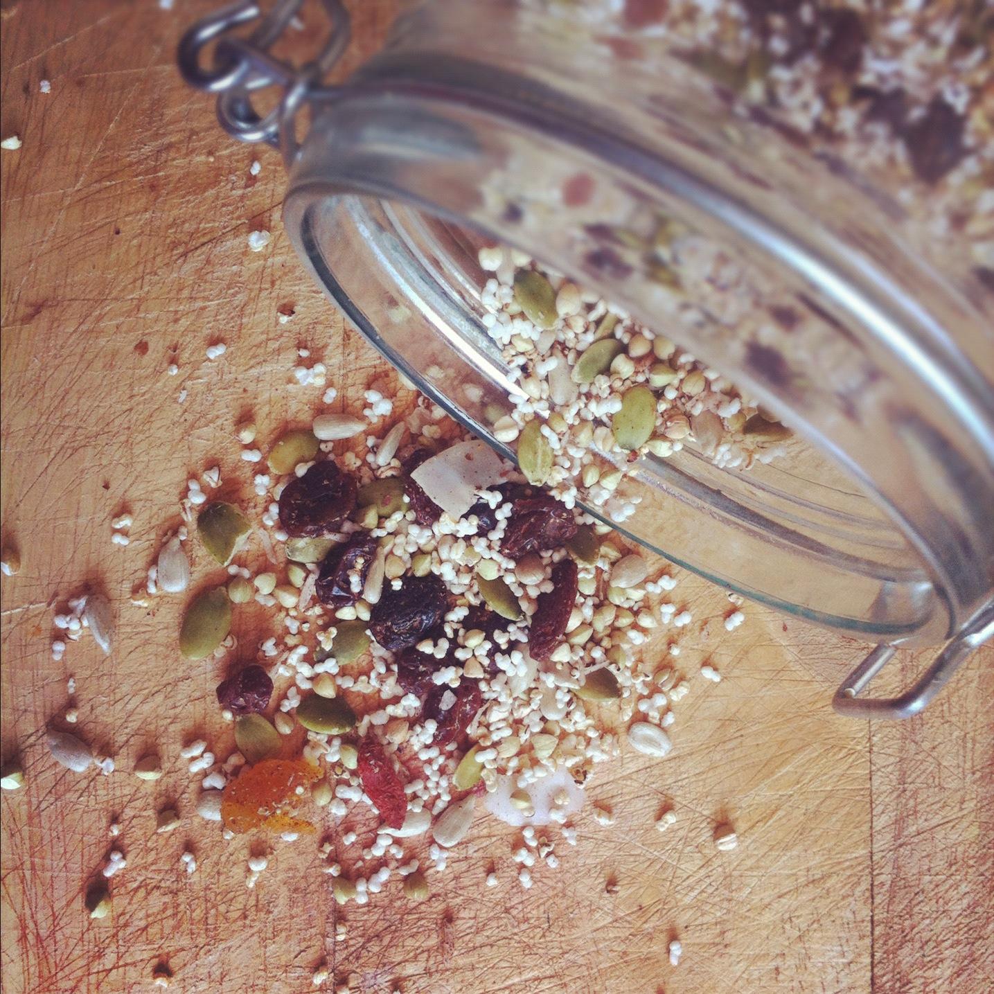 how to make gluten free muesli