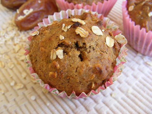 banana date muffin 1