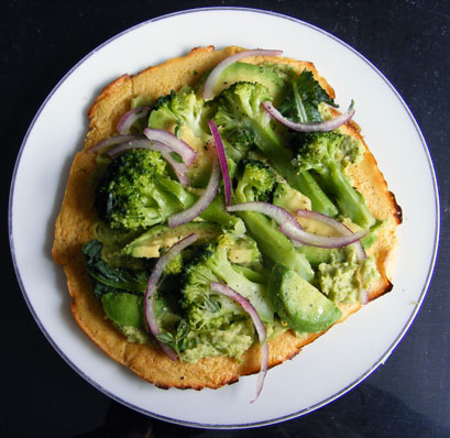 broccoli-hummus-socca