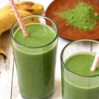 Classic Matcha Green Smoothie