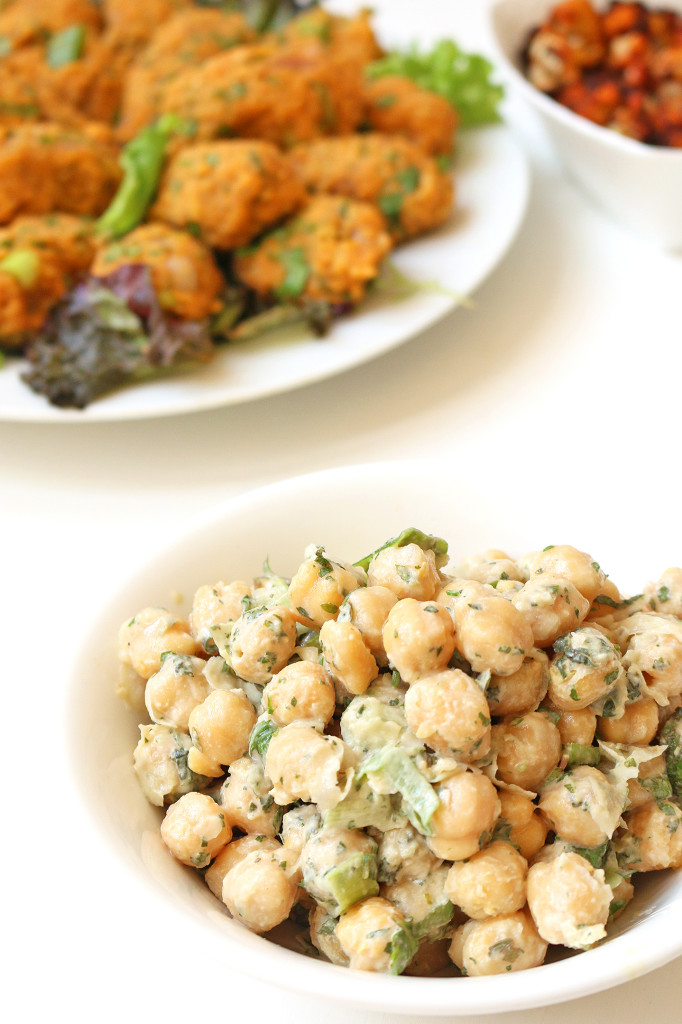 chickpea-salad-tahini-dressing-5
