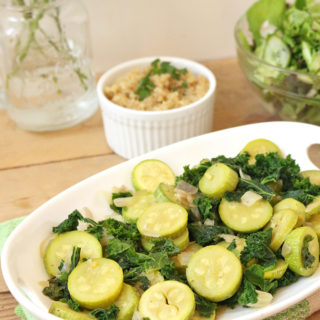 Kale and Cousa Sauté