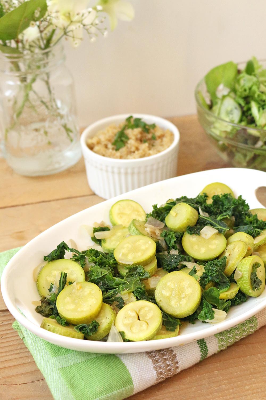 Kale And Cousa Saut 233 One Arab Vegan