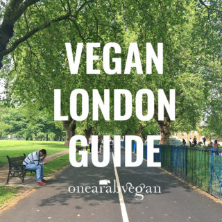 Vegan London Guide 2016