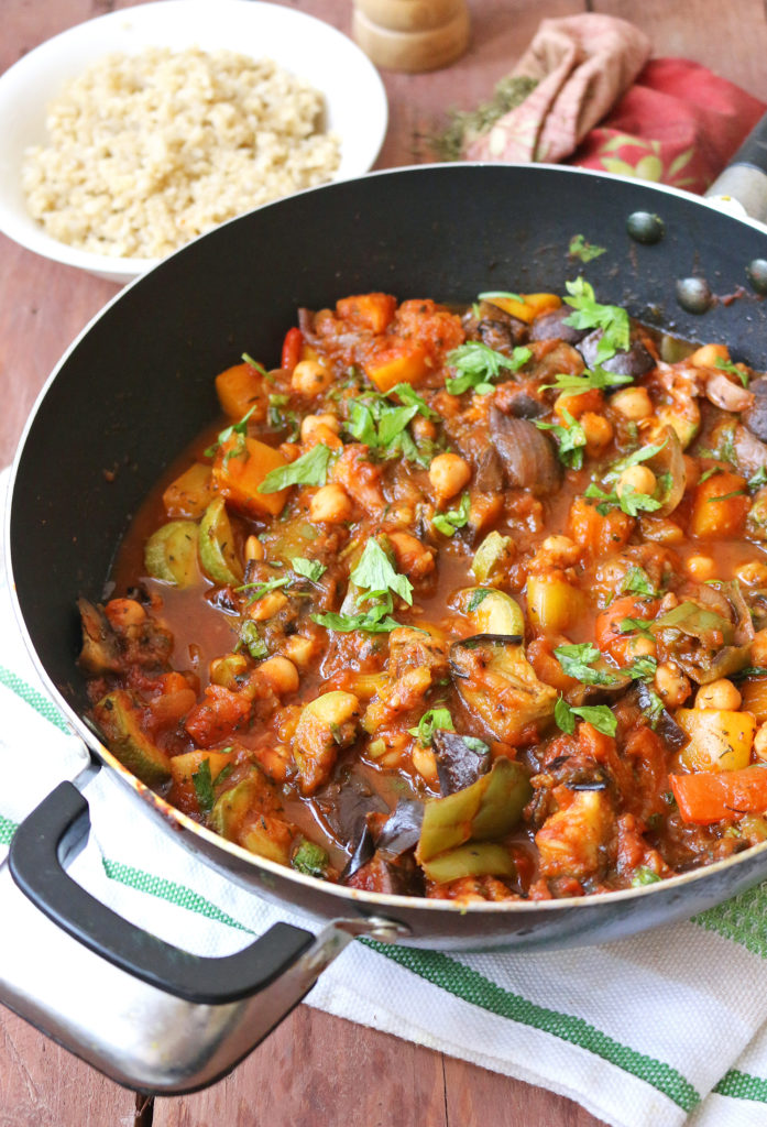 Mediterranean Vegetable And Chickpea Stew