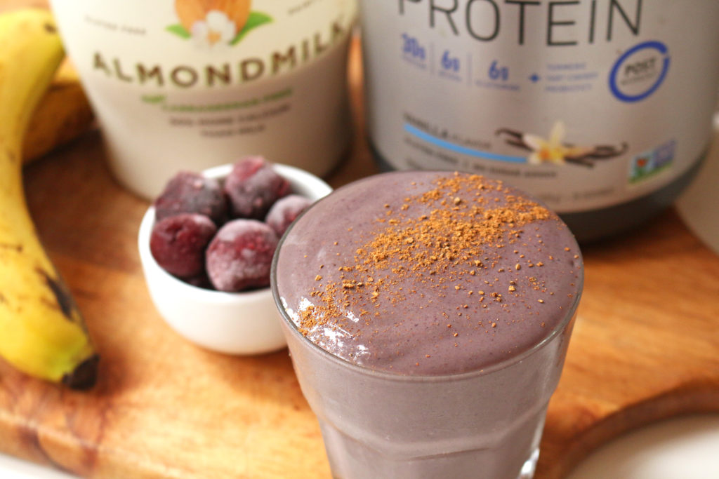 vegan-cherry-pie-protein-smoothie-7