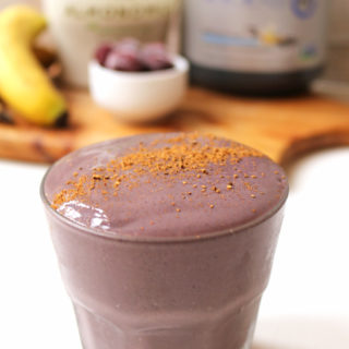 Cherry Pie Protein Smoothie