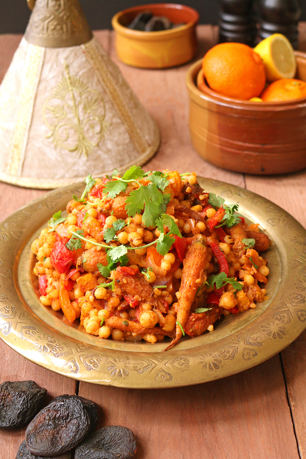 Moroccan style moghrabieh couscous one arab vegan despite its various challenges this month has long been one of my favourite times of year why you ask a plethora of reasons forumfinder Gallery